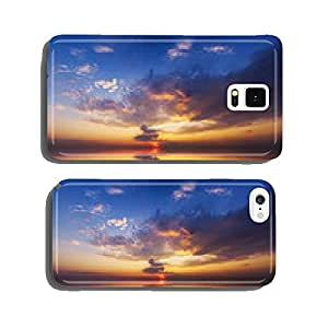 sunrise over ocean. cell phone cover case iPhone5