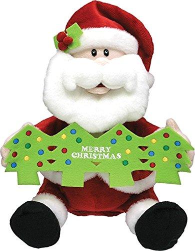 12 inch singing christmas santa plush 1 pieces - Singing Christmas Toys