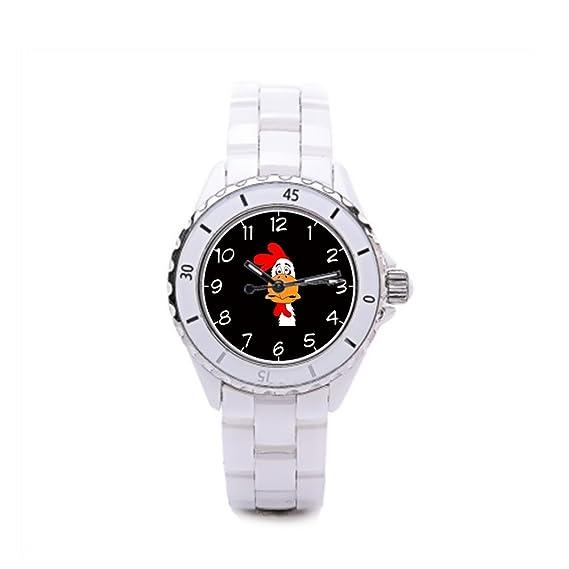 Queensland de cerámica reloj para mujer macho pollo barato reloj Cool: Amazon.es: Relojes