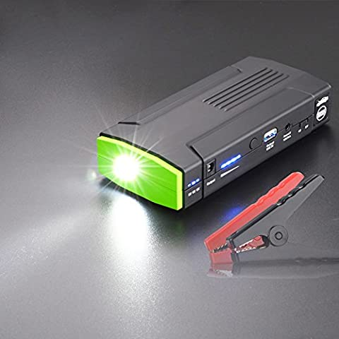 500A Peak 12v Portable Car Jump Starter Power Bank 13800mAh auto battery booster with LED Light