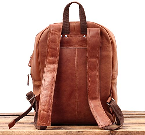 School r Le Paul Natural Mariol Backpack w Bag Marius Leather B Vintage Tx8wqatxB