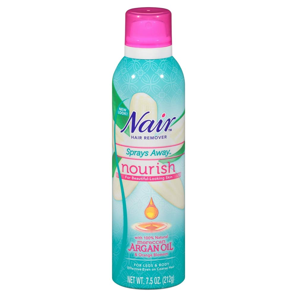 Amazon Com Nair Hair Remover Sprays Away Nourish Legs Body 7 5
