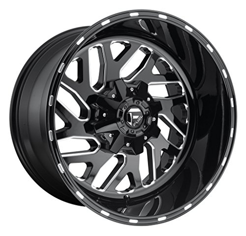 Amazon Com 20x8 25 Fuel D581 Triton Gloss Black Milled 8x6 5 240