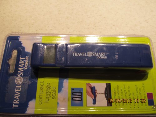 Travel Smart Compact Luggage Scale by Conair (Conair Travel Smart Ts33hdcr Flat Folding Cart)