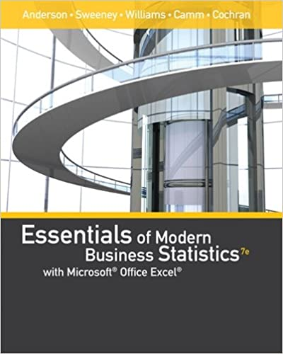 Essentials of modern business statistics with microsoft office excel essentials of modern business statistics with microsoft office excel with xlstat education edition printed access card 7th edition fandeluxe Image collections