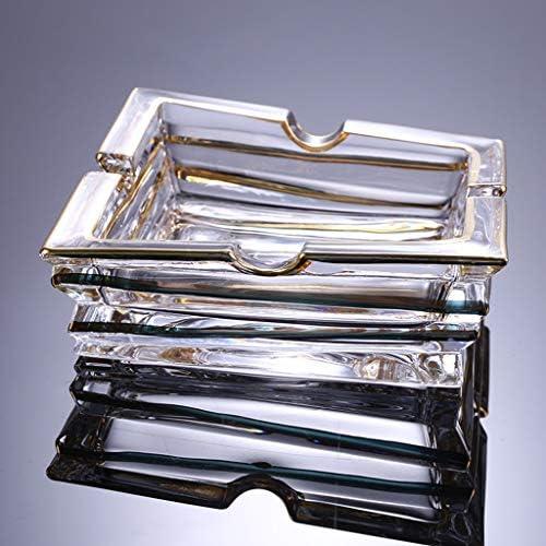 CQ クリエイティブ人格説明プノンペンクリスタルガラスの灰皿ヨーロッパの幾何学的なアングル灰皿透明クリスタル灰皿