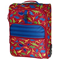 Stephen Joseph All Over Print Rolling Luggage