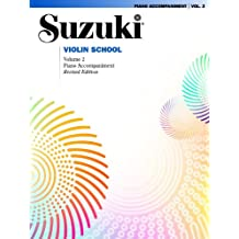 The Suzuki Violin School, Vol 2: Piano Acc.