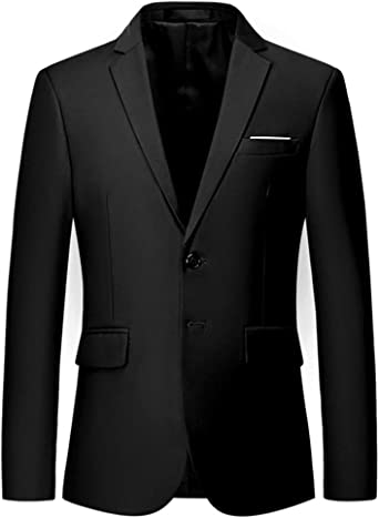 Mens Suit Jacket Slim Fit Sport Coats Blazer for Daily Business Wedding  Party at Amazon Men's Clothing store