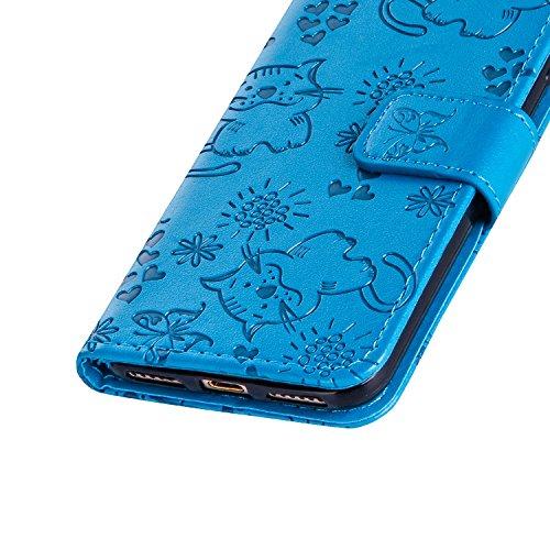 Cover Portafoglio Galaxy Samsung Cuoio Vectady 8 Gatto Per Design Ecopelle Custodia In Cover Pu Case Flip Carina Cute Farfalle Protettiva Note Blu C Copertura Con Pelle E1wEq5fxH