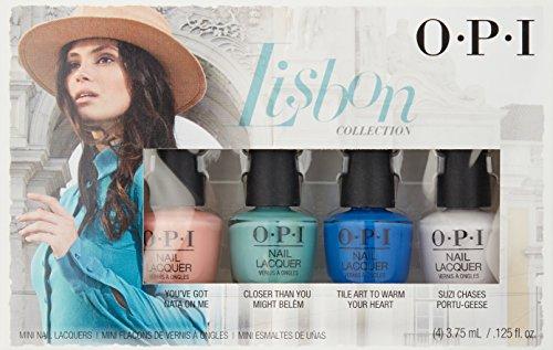 OPI Lsbon Collection Set De Esmalte De Uñas - 4 Unidades x 3.75 ml ...