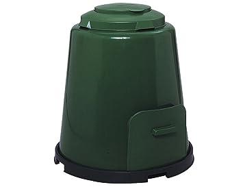 GRAF Compostador 600012 de color verde, 4 piezas, 280 litros de capacidad