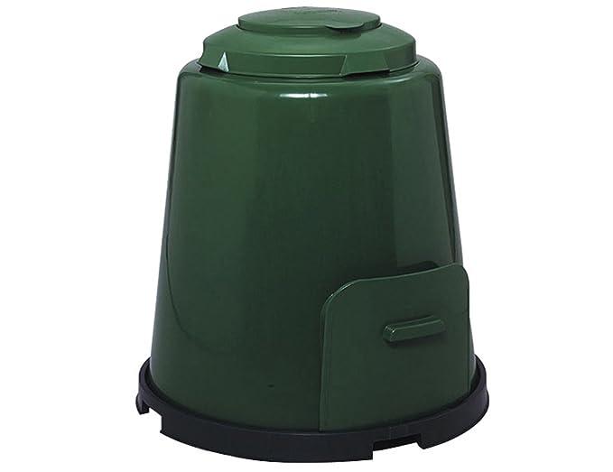 GRAF Compostador 600012 de color verde, 4 piezas, 280 litros de capacidad: Amazon.es: Jardín
