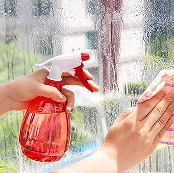 Depory Empty - Botella de plástico para Agua, Rojo: Amazon.es: Jardín