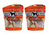 SmartBones Sweet Potato Dog Chews, Medium, 4-count (2 Pack)