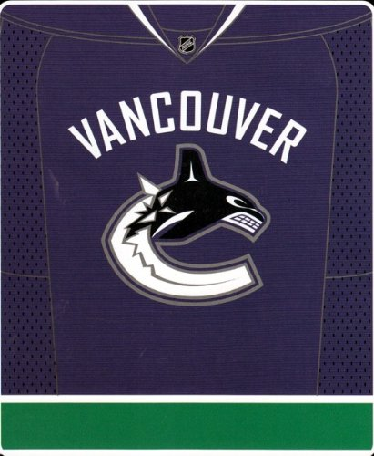 Officially Licensed NHL Vancouver Canucks Jersey Plush Raschel Throw Blanket, 50' x 60'
