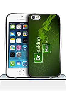 Iphone 5 Funda Case, Breaking Bad logo [Scratch-Resistant] High Impact pink Drop Protection for Iphone 5&5s