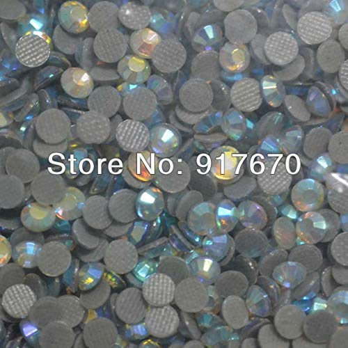 (Pukido SS20 Crystal ab Heat Transfer Korean Rhinestones 100Gross/pack, Wholesale Strass hotfix flatbacks Rhinestone Applique)