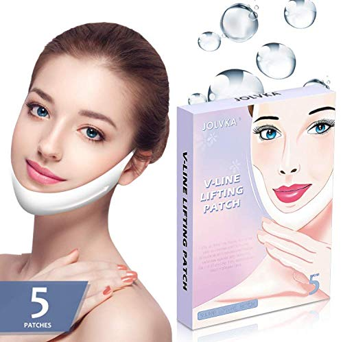 V Line Shape Face Lifting Mask, Double Chin Reducer, Chin Up Patch Lifting Mask ()