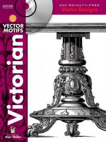 Victorian Vector Motifs (Dover Electronic Clip Art): Amazon.es ...