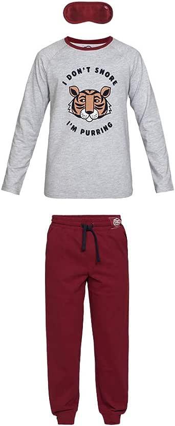 Nightoclock Biger Conjunto de Pijama para niño en algodón orgánico ...