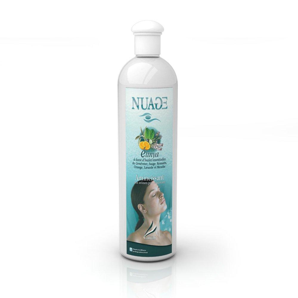 Camylle - Nuage - Emultion d'huiles essentielles pour diffuseur ultrason - Elinya - Amincissant- 500ml