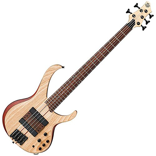 Ibanez-BTB33-5-String-Electric-Bass-Guitar-Flat-Natural