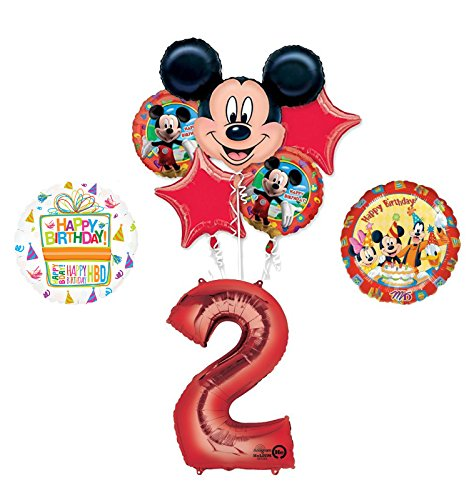(Mickey Mouse and Friends 2nd Birthday Party Supplies and Balloon Decorations)