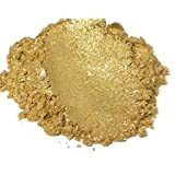 "42g/1.5oz""DIAMOND GOLD"" Mica Powder Pigment (Epoxy,Paint,Color,Art) Black Diamond Pigments"