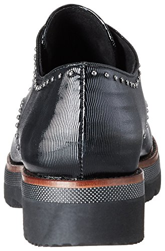 Nero black Marco 23702 Brogue Tozzi pat Donna Str 1qrwfXqWIn