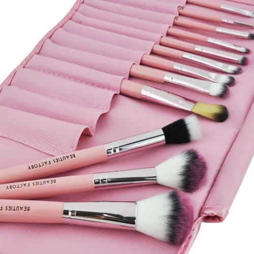 Beauties Factory 12pcs Makeup Brush Set (Kawaii Pink)