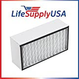 LifeSupplyUSA Replacement Filter for A1401B Bionaire Air Purifier fits LE1660 and LC1460
