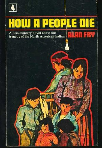 How a people die: A novel