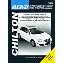 Volkswagen Jetta/Rabbit/GTI & Golf 2006-11: Does not include 2005 Jetta (based on the A4 platform) or 2006 1.8L GTI models, 2011 2.0L 8-valve Sedan models (based on the A6 platform), diesel engine information or information specific to R32 models