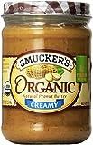 Smucker's Organic Creamy Peanut Butter, 16 oz, 2 pk
