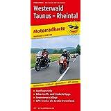 Westerwald - Taunus - Rheintal: Motorradkarte mit Ausflugszielen, Einkehr-und Freizeittipps und Tourenvorschlägen sowie GPS-Tracks als Gratisdownload, ... GPS-genau. 1:200000 (Motorradkarte / MK)