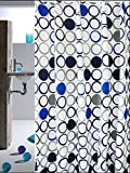 GouuoHi Home Shower Curtain 1pcs Shower Curtain Premium Polyester Super Quality Building op Opaque Mildewproof Thickness White 180cm 200cm