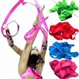2013newestseller 4sets 4colors 4m Sports Gymnastics Dance Ribbons Wedding Performance Activities 4pcs