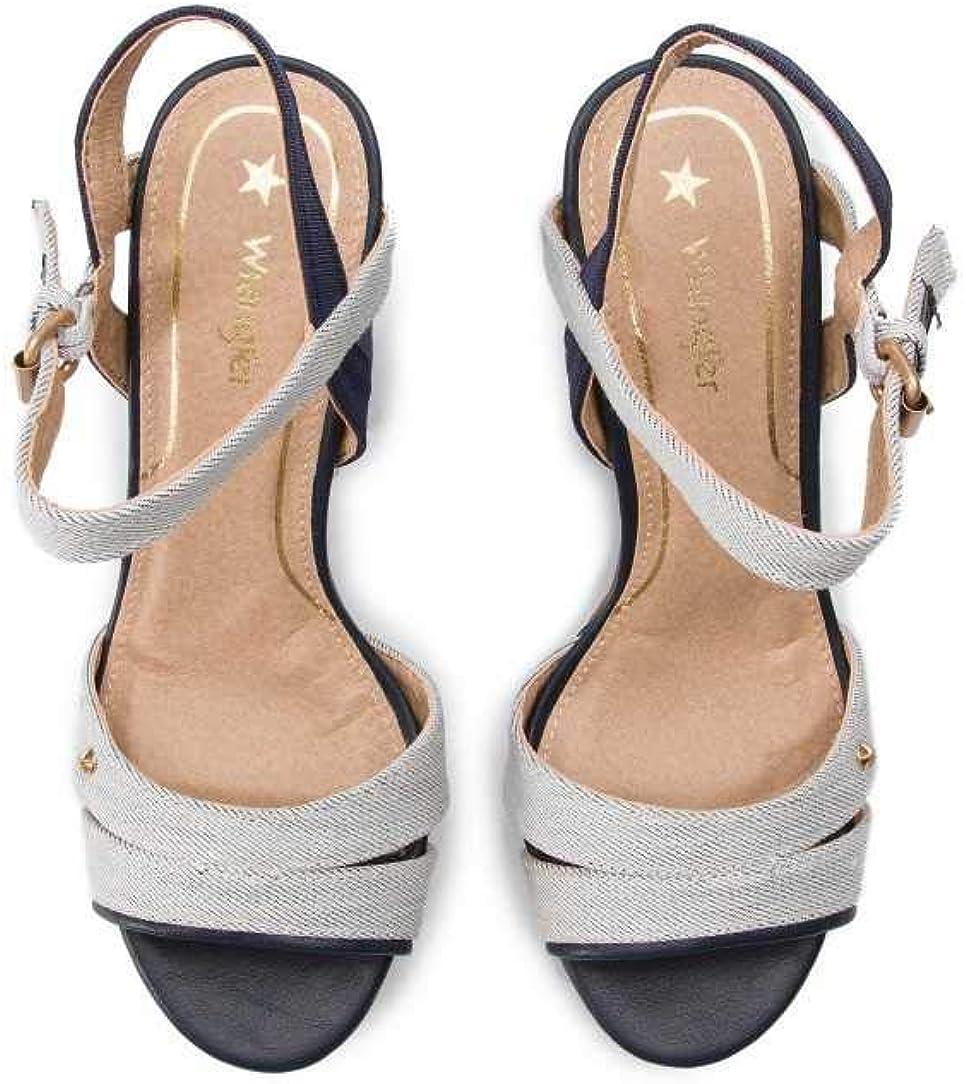 Wrangler Sandalo WL91610AN BLU