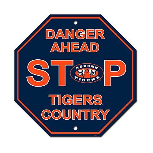 Fremont Die NCAA Auburn Tigers Stop Sign, 12