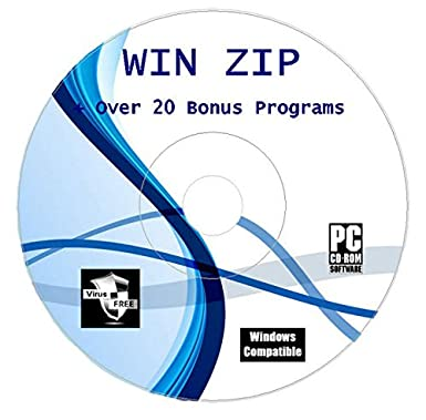 Winzip For Rar Arhived Files Compression Unzipping Software CD Disk