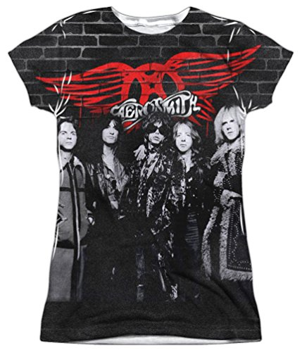 mation: Junior Fit - Brick Paint Aerosmith T-Shirt ()