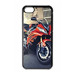 iPhone 5c Cell Phone Case Black Motorcycle Generic Phone Cases Protective XPDSUNTR24126
