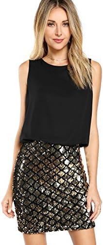 Romwe Womens Layered Fashion Sparkle product image