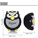 Bluetooth Speaker, Bigwave OWL Design Portable Wireless Mini Speakers with Built-in Mic, Hands-free Speakerphone, Support TF Card, Perfect for Home Car Party and Outdoor Activities (Black)
