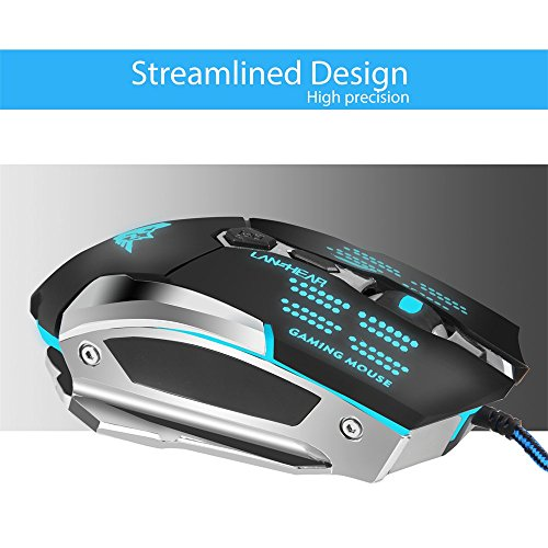51qgdmbGn6L - Gaming-Mouse-Ergonomic-Optical-USB-Wired-Programmable-Laser-Computer-Game-Mice3200-DPI-Adjustable-7D-Color-Changing-Breathing-LED-Lights-For-Laptop-PC-MAC-Pro-GamerBlack