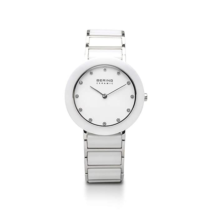 Amazon.com: BERING Time 11435-754 Womens Ceramic Collection Watch with Stainless Steel Band and Scratch Resistant Sapphire Crystal. Designed in Denmark.
