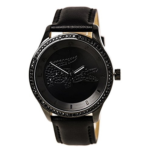 Lacoste Victoria Leather - Black Women's watch #2000823