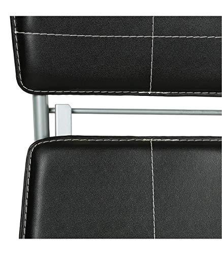 Intérieur Discount chaise Pliante Noire