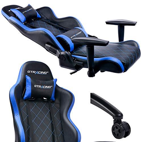 Gtracing Gaming Chair Heavy Duty Metal Base Office